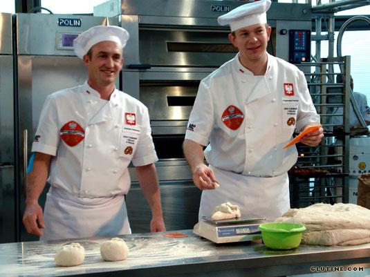 2010 SIGEP Bread Cup - Squadra polacca al lavoro