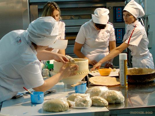 2010 SIGEP Bread Cup - Squadra russa al lavoro