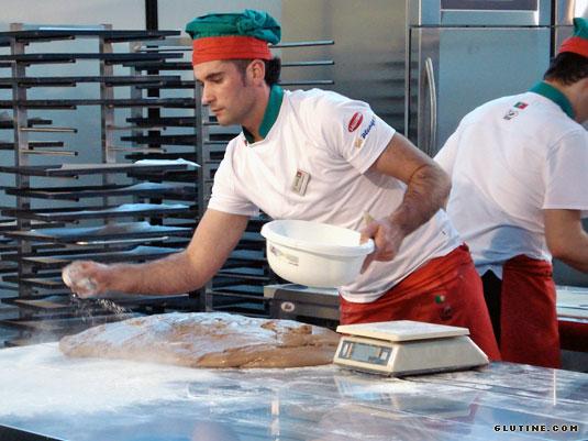 2010 SIGEP Bread Cup - Squadra portoghese al lavoro